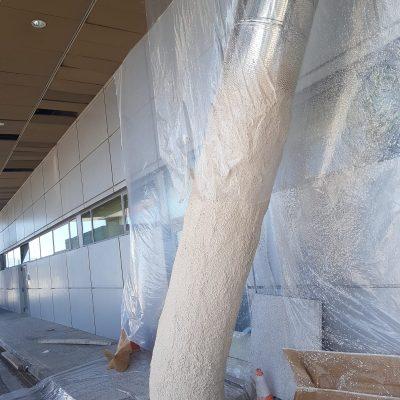 proteccion de tubos aeropuerto de malaga 5