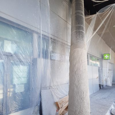 prtoteccion de tubos aeropuerto de malaga 4